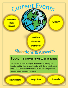 Current Events Science by Captain Planet:Build Your Own 10