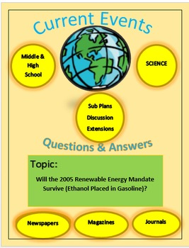 Current Events Science:Will the 2005 Renewable Energy Mand