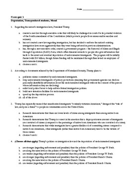 Current events -- week of February 27 -- article packet/mu