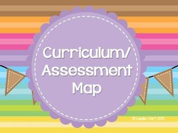 Curriculum or Assessment Map Semester 1