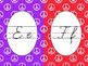 Cursive Alphabet Line Groovy Peace