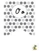 Cursive Alphabet Pennant Banner (Black and White)