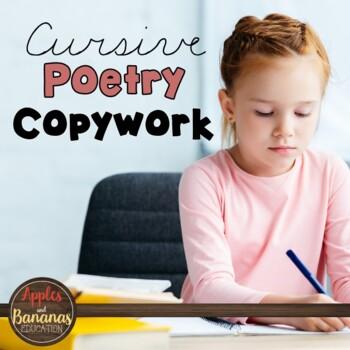 Cursive Copywork - Poetry Handwriting Practice