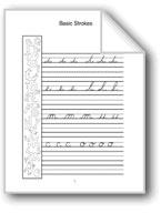 Cursive Handwriting: P, Q, R, S, T
