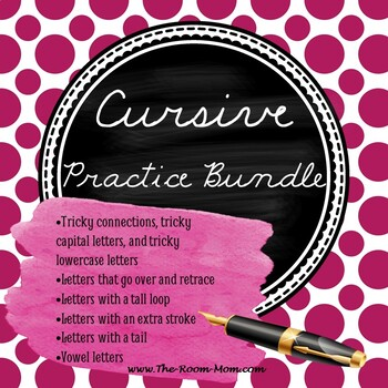 Cursive Handwriting Bundle