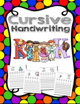 Cursive Handwriting Worksheets Uppercase and Lowercase