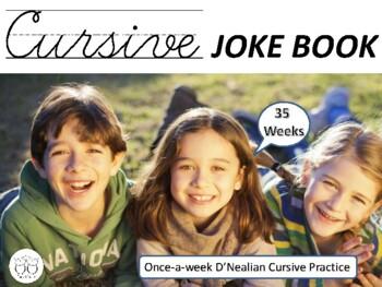 Cursive Joke Book - 35 Weeks of Cursive Practice