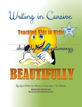 CURSIVE HANDWRITING - Teaching KIDS To Write Beautifully!