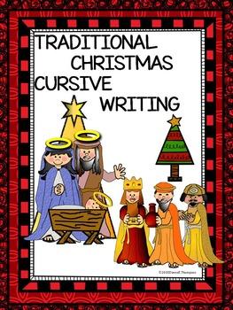 Cursive Writing Christmas