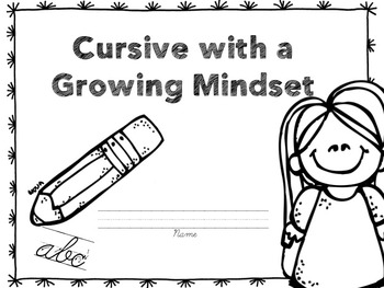 Cursive with a Growing Mindset