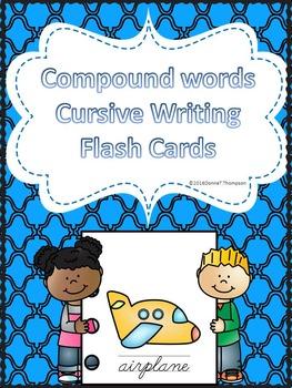 Cursive Writing Compound Words