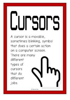 Cursors Posters