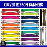 Curved Ribbon Banners Clip Art/Graphics