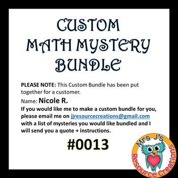 Custom Bundle Order #0013_Nicole R.