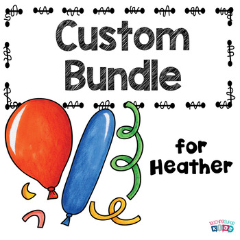 Custom Bundle for Heather