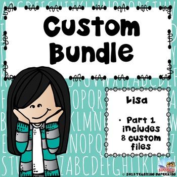 Custom Bundle for Lisa