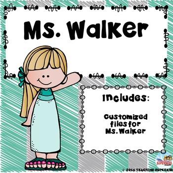 Custom Bundle for Ms Walker