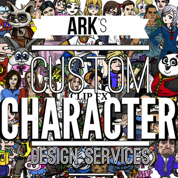 Custom Character Clipart Service