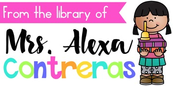 Custom Labels for your Library Books