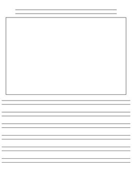 Custom Lined Paper for Writer's Workshop