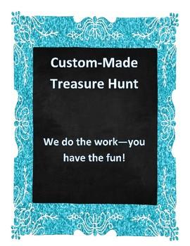 Custom-Made Treasure Hunt