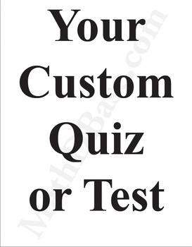 Custom Math Quiz in 24 Hours