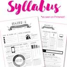 Custom Nontraditional Syllabus