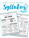 Custom Nontraditional Syllabus #3