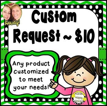 Custom Request ~ $10