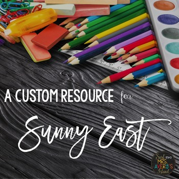 Custom Resource:  Editable Number Tags and Labels for Sunny East
