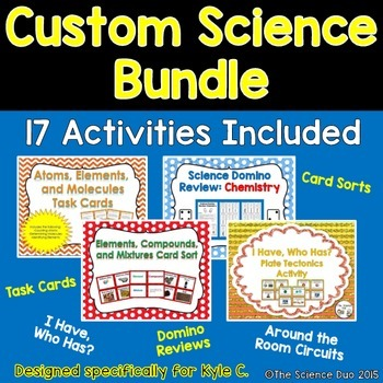 Custom Science Bundle (Felicia C.)