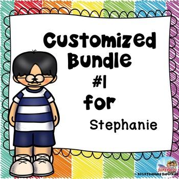 Custom Set #1 for Stephanie