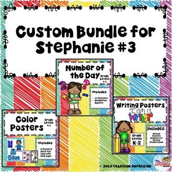 Custom Set 3 for Stephanie