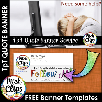 Custom TPT Quote GIF Banner - FREE Keynote and PowerPoint