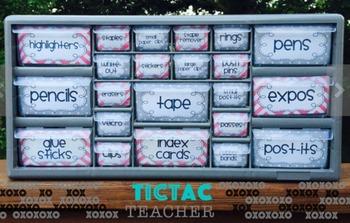 Custom Teacher Supply Organizer