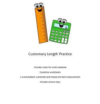 Customary Length Practice