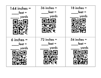 Customary Length QR Codes