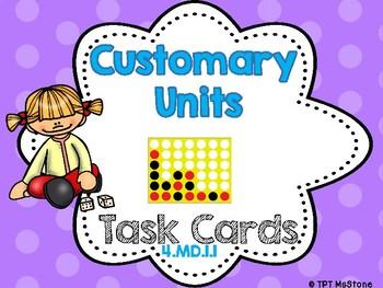 Customary Units Task Cards