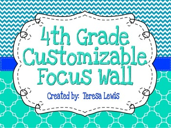Customizable Focus Wall Caribbean, Turquoise, and Cobalt B