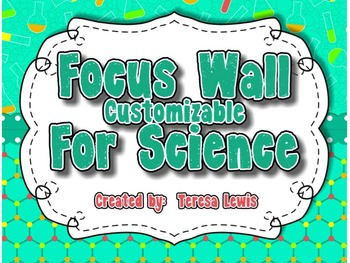 Customizable Focus Wall Science Theme