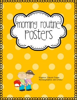 Customizable Morning Routine Posters (with Pictures)