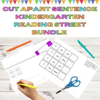 Cut Apart Sentences Kindergarten Reading Street Decodables