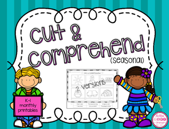 Cut & Comprehend {free Christmas version}
