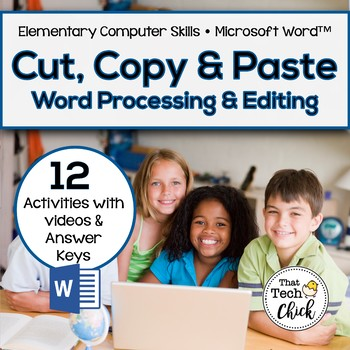 Cut, Copy, and Paste! for MS Word -12 Word Processing and