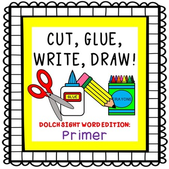 Dolch Sight Words activities {Primer List}