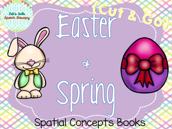 Cut & Go-- Easter and Spring Spatial Concept Books