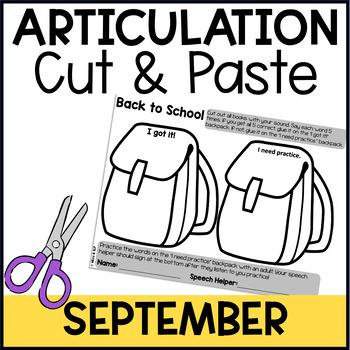 Cut & Paste Articulation-September