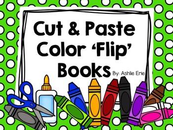 Cut & Paste Color 'Flip' Books