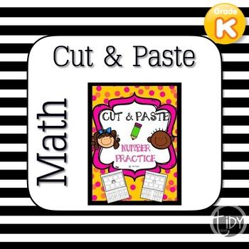 Cut & Paste Math Number Practice