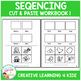 Cut & Paste Sequencing Workbook 1 ABA Autism